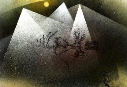 Paul Klee: Mountains in Winter