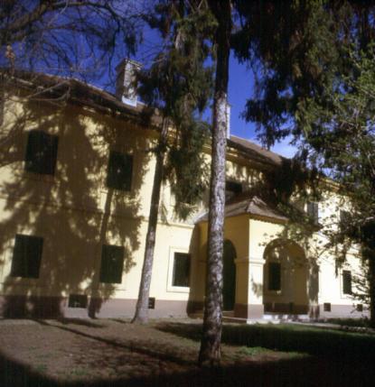 A hajdani Kiskun Kapitányság épülete