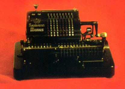 HAMANN MANUS calculator (1940)