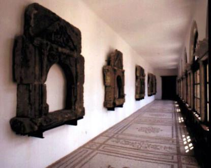 Late renaissance stone carvings