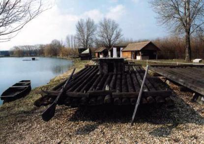 A tiszai fafeldolgozást bemutató kiállítás és gátőrház