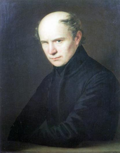 Kölcsey Ferenc - Einsle, Anton olajfestménye, 1835
