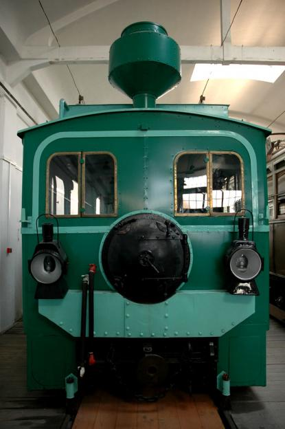 The 120-year-old steam engine of the HÉV of Haraszt