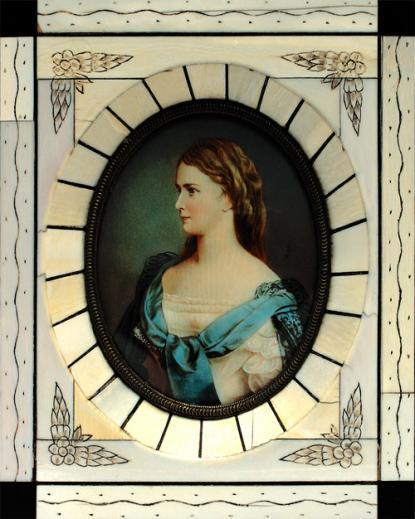 Portrait of Queen Elisabeth