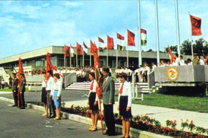 Nyári tábormegnyitó (1980-as évek)