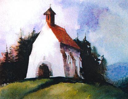 Kápolna Szárhegyen