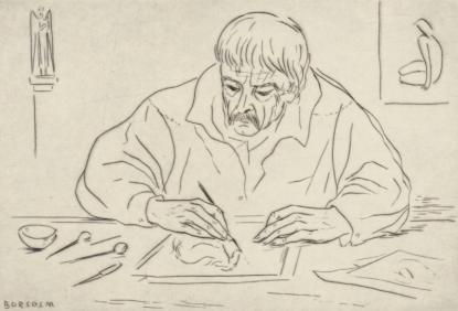 Rézkarcoló, rézkarc, 1979.