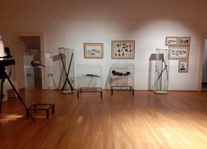Pillanatkép A szabadság színeváltozásai c. kiállításból