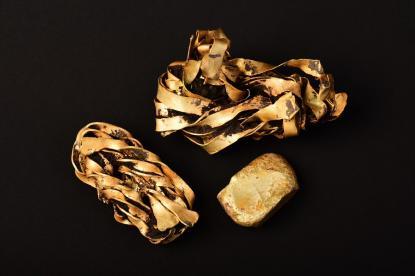 Aranykincs egy debreceni ásatáson