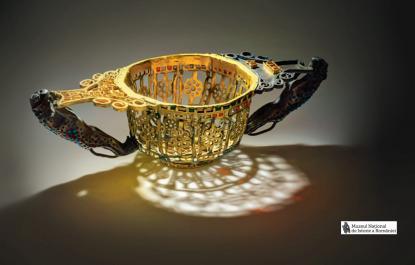 Ősi arany- és ezüstkincsek Romániából, aranytál