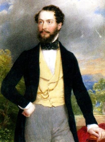 Barabás Miklós (1810-1898): Batthyány Kázmér portréja