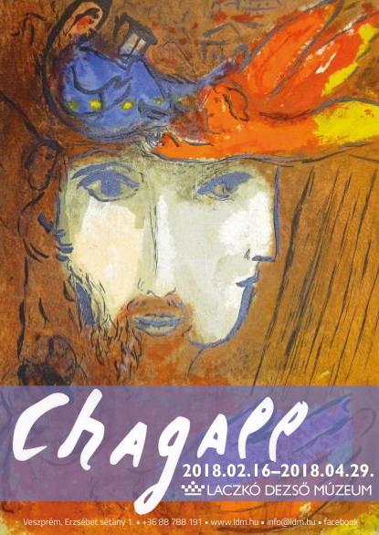 A színek költészete Chagall műalkotásai a veszprémi múzeumban