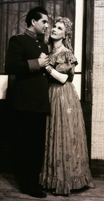 Galambos Erzsi, Simor Ottó, 1954