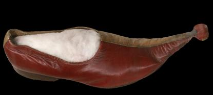 Csőrös cipő