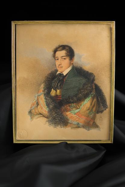 Eduard Agricola: Kállay Kristóf portréja