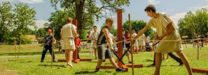 Gladiátor ludus gyerekeknek 12 éves kortól