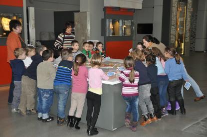 Múzeumpedagógiai foglalkozás az Iseumban