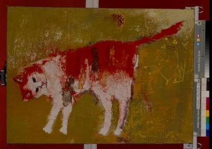 Karatsong Dezső: Egy vörös macska arcképe