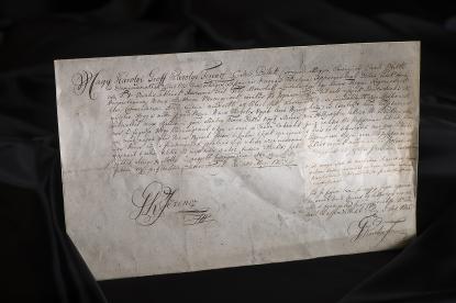 Károlyi Ferenc megbízólevele 1753-ból