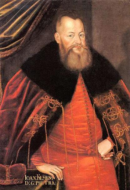 Ismeretlen művész (17. század második fele): Kemény János, olajfestmény