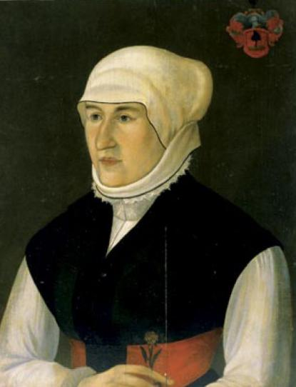 Lórántffy Zsuzsanna portréja, ismeretlen festő