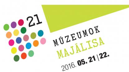 Múzeumok Majálisa 2016, logó
