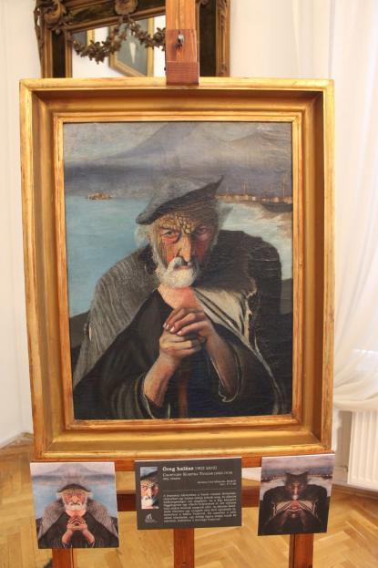 Csontváry: Öreg halász