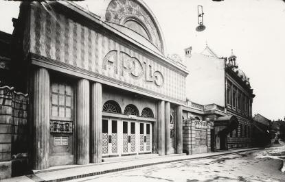 Az Apollo mozi épülete, Pécs