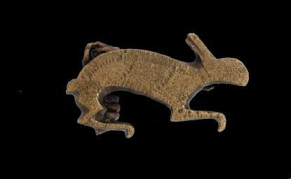 Római kori állatos fibula