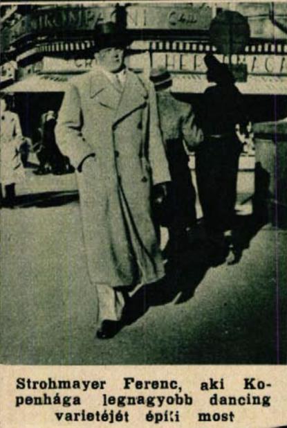 Strohmayer 1936-ban, Színház Élet