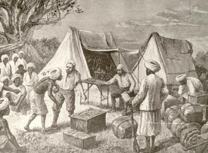 Teleki Sámuel az expedíción