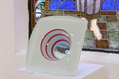 Üvegművészeti kiállítás