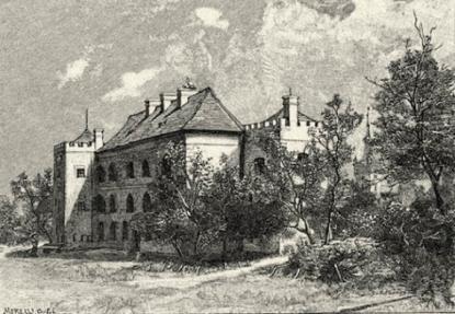 A vajai kastély régen