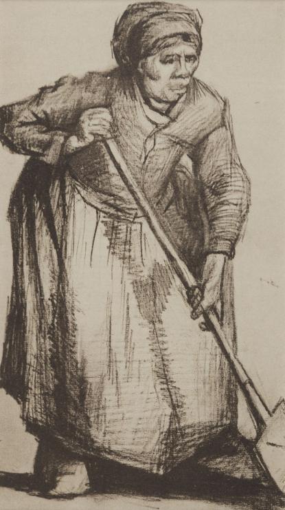 Vincent van Gogh feketén – fehéren