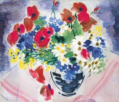 Vaszary János: Mezei virágok