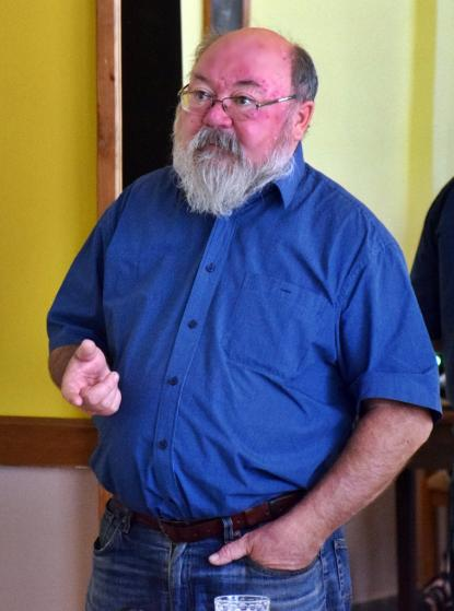 Vincze Gábor, a hódmezővásárhelyi Emlékpont történész-muzeológusa