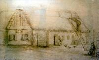 Jókai Mór rajza alapján kaphatta vissza eredeti formáját a Szülőház. A rajz megtekinthető a kiállításon.