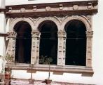 Az 1540-ben készült hármas árkád reneszánsz kőfaragvány