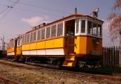 BVVV 21-22 villamos ikerkocsi, mely 1911-ben épült a Ganz gyárban a Budapesti Villamos Városi Vasút (BVVV) részére