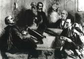Liszt Ferenc, Mosonyi Mihály, Horányi Kornél, Augusz Antal és Reményi Ede