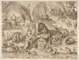 Bruegel Fösvénység 1558