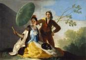 Francisco Goya: A napernyő, 1777.