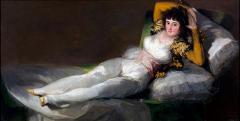 Francisco Goya: A felöltözött Maja, 1800.