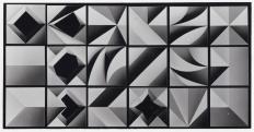 A Karl-Heinz Adler és Friedrich Kracht által kifejlesztett formarendszer elemei, 1967, Atelier Adler, Atelier Kracht