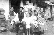 Parádi család 1910 körül