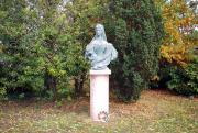 Zala György Erzsébet királynét ábrázoló mellszobra