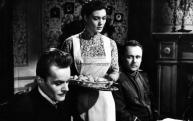Jelenet a filmből. Darvas Iván, Bara Margit, Kozák László