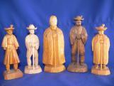 A 85 éves Balogh Zsigmond kondorosi fafaragó alkotásai