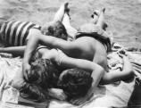 Besnyo Éva a Bannsse-i strandon