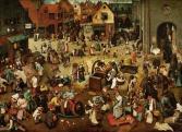 Pieter Bruegel: A farsang és a böjt harca